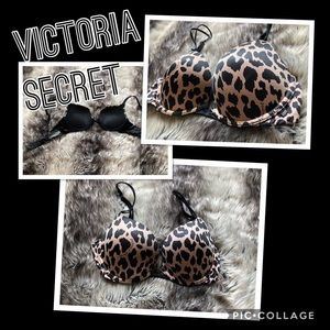 Victoria secret cheetah print bra